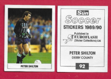 Derby County Peter Shilton England 92